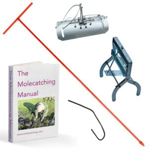 Mole Catching Kit with Tunnel and Talpex Traps